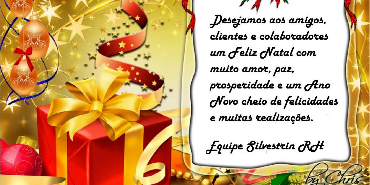 Cartão De Natal Silvestrin